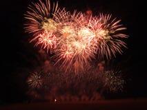 Manifestazione dei fuochi d'artificio Immagine Stock Libera da Diritti