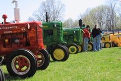 Manifestazione dei motori a gas e dei trattori Immagine Stock