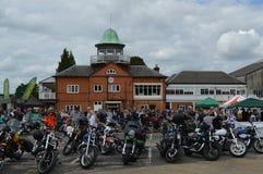 Manifestazione 2016 del motociclo di Brooklands Fotografia Stock Libera da Diritti