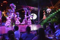 MANIFESTAZIONE DEL NIGHT-CLUB DI CUBA TROPICANA fotografie stock