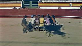 Manifestazione del rodeo di Ibiza video d archivio