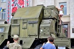 Manifestazione dell'attrezzatura dell'esercito Immagini Stock Libere da Diritti