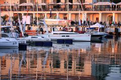Manifestazione dell'yacht Fotografie Stock