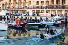 Manifestazione dell'yacht Fotografie Stock Libere da Diritti