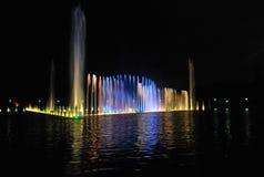 Manifestazione della fontana di Wroclaw Fotografia Stock Libera da Diritti