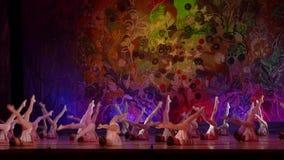 Manifestazione delle perle di balletto archivi video