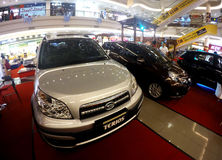 Manifestazione di automobili Immagini Stock