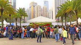 Manifestazione di fiore del internationall di Hong Kong 2015 Fotografia Stock Libera da Diritti