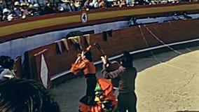 Manifestazione di flamenco di Ibiza stock footage