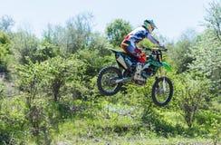 Manifestazione di motocross in Bulgaria Fotografia Stock