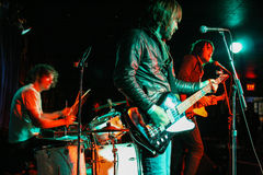 Manifestazione di rock-and-roll Fotografia Stock