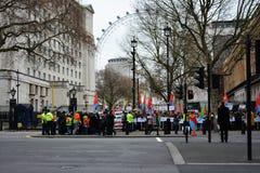 Manifestazione di uguaglianza Fotografie Stock Libere da Diritti