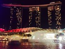 Manifestazione edificio di Singapore Immagini Stock Libere da Diritti