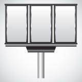 Manifestazione-finestra di vetro Immagine Stock