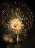 Manifestazione/Guy Fawkes Night dei fuochi d'artificio Fotografia Stock Libera da Diritti