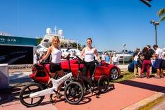 Manifestazione internazionale della barca di Miami Fotografia Stock