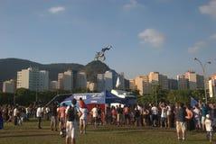 Manifestazione Rio de Janeiro 2014 della bici di Salão fotografia stock