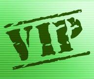 Manifestazioni Person And Celebrity molto importante del bollo di VIP Fotografia Stock