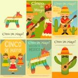 Manifesti messicani royalty illustrazione gratis