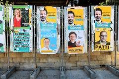 Manifesti politici Fotografia Stock Libera da Diritti