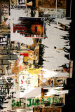Manifesti violenti del grunge Fotografie Stock Libere da Diritti
