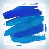 Manifesto acrilico quadrato di sogno del colpo di motivazione Iscrizione del testo di un detto ispiratore Modello tipografico del Immagini Stock Libere da Diritti