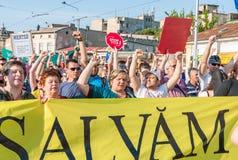 Manifesto against abusive deforestation Royalty Free Stock Image