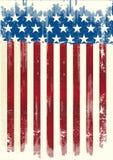 Manifesto americano sporco Immagini Stock Libere da Diritti