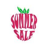 Manifesto caldo di vendita di estate Immagini Stock Libere da Diritti