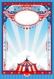 Manifesto del circo Fotografia Stock Libera da Diritti