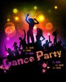 Manifesto del partito di discoteca Immagine Stock