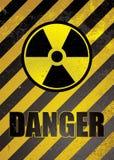 Manifesto del pericolo Fotografie Stock