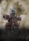 Manifesto dell'armatura di Viking illustrazione vettoriale