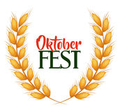 Manifesto dell'invito del fest di Oktober illustrazione vettoriale