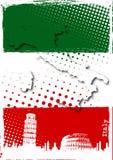 Manifesto dell'Italia Fotografie Stock