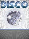 Manifesto della discoteca Fotografia Stock