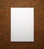 Manifesto dello spazio o struttura di arte che aspetta per essere riempito Fotografie Stock
