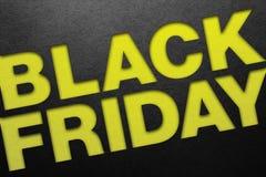 Manifesto di Black Friday immagine stock
