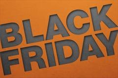 Manifesto di Black Friday fotografia stock libera da diritti