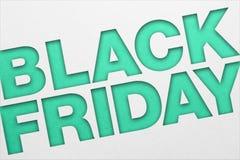 Manifesto di Black Friday fotografia stock