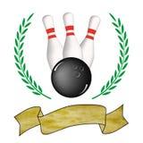 Manifesto di bowling illustrazione di stock