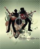 Manifesto di concerto Fotografie Stock