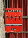 Manifesto di concerto di Krafter a Verona Immagine Stock Libera da Diritti