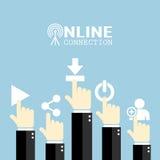 Manifesto di concetto di Internet Immagine Stock Libera da Diritti