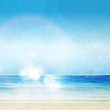 Manifesto di estate del cielo Fotografie Stock
