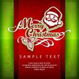 Manifesto di Mary Christmas testo royalty illustrazione gratis