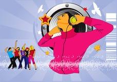 Manifesto di musica Immagine Stock Libera da Diritti