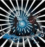 Manifesto di musica. Il DJ Immagine Stock Libera da Diritti