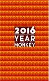 Manifesto di nuovo anno Fotografia Stock
