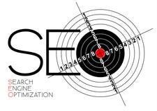 Manifesto di ottimizzazione di Search Engine Fotografia Stock Libera da Diritti